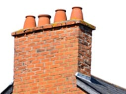 Chimney leak and roof repair