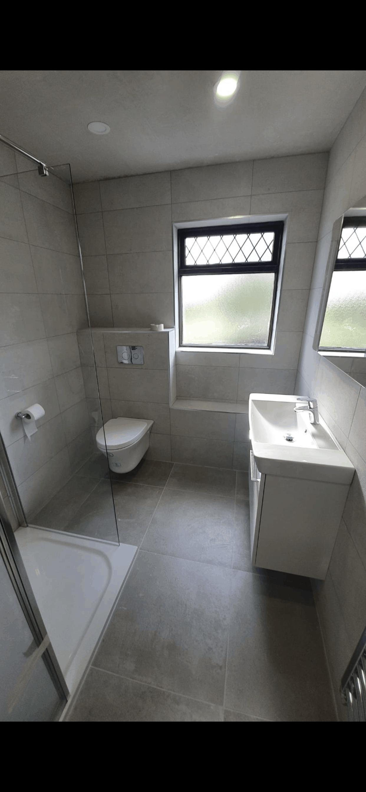Bathroom renovations-