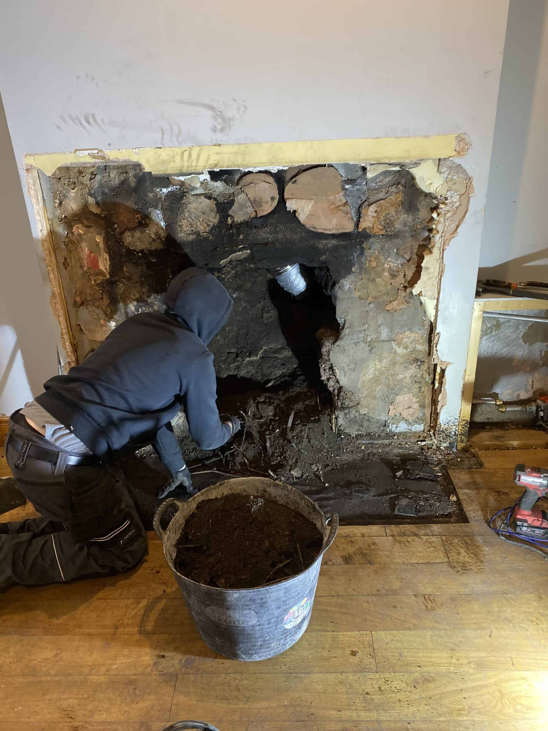 Stove installations-